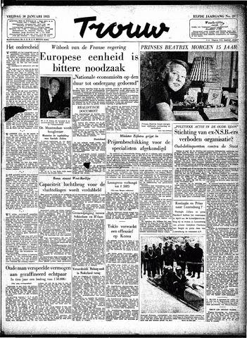 Trouw / De Rotterdammer 1953-01-30