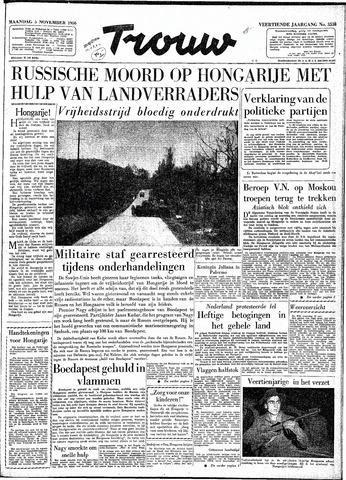 Trouw / De Rotterdammer 1956-11-05