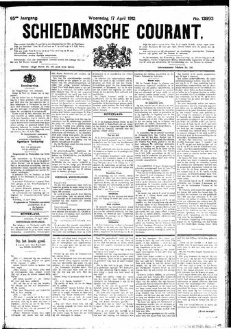 Schiedamsche Courant 1912-04-17