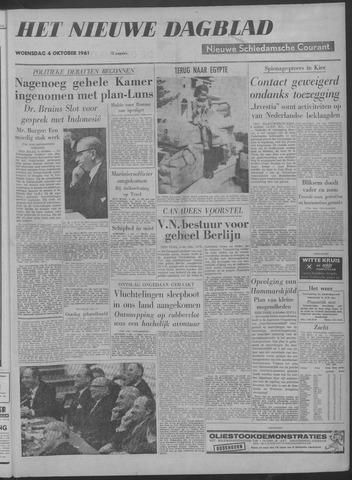 Nieuwe Schiedamsche Courant 1961-10-04