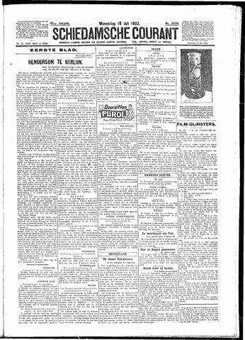 Schiedamsche Courant 1933-07-19