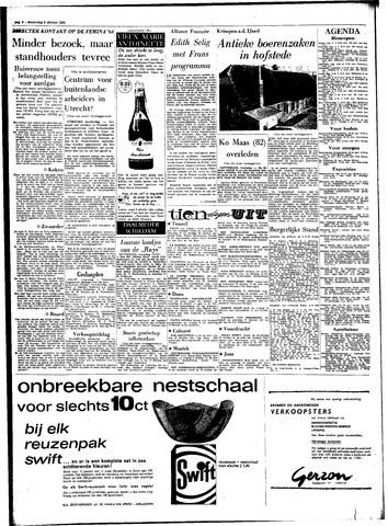 Rotterdamsch Parool / De Schiedammer 1964-10-08