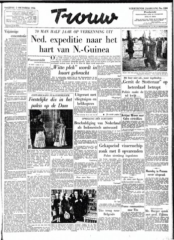 Trouw / De Rotterdammer 1956-10-05