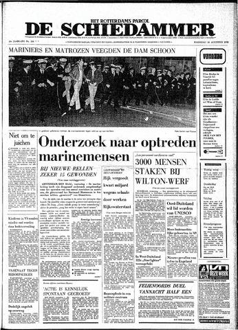 Rotterdamsch Parool / De Schiedammer 1970-08-26
