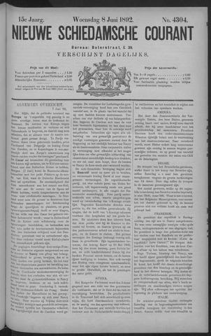 Nieuwe Schiedamsche Courant 1892-06-08