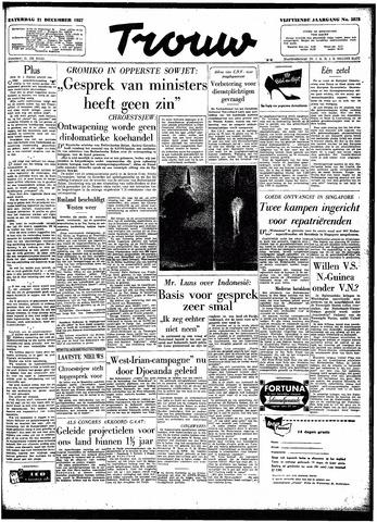 Trouw / De Rotterdammer 1957-12-21