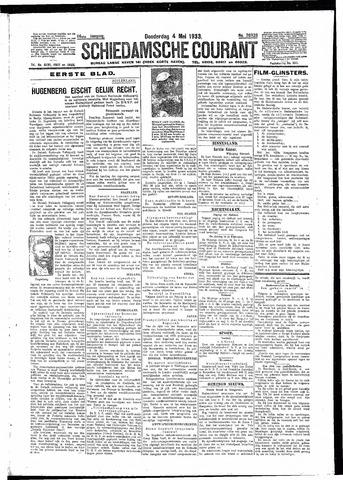 Schiedamsche Courant 1933-05-04