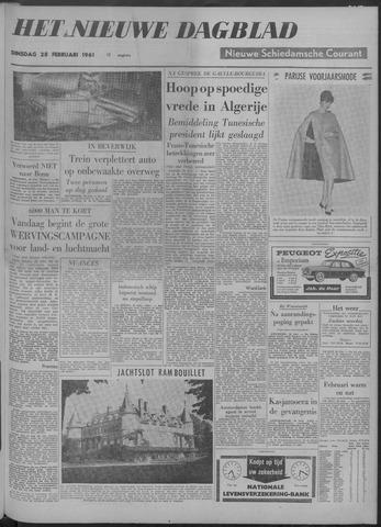 Nieuwe Schiedamsche Courant 1961-02-28