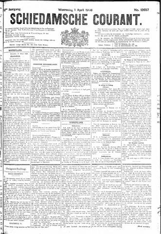 Schiedamsche Courant 1908-04-01