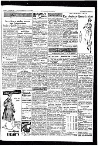 Rotterdamsch Nieuwsblad / Schiedamsche Courant / Rotterdams Dagblad / Waterweg / Algemeen Dagblad 1953-03-10