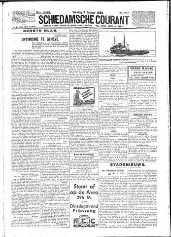Schiedamsche Courant 1933-10-03