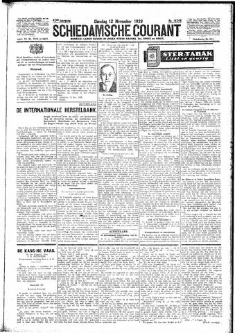 Schiedamsche Courant 1929-11-12