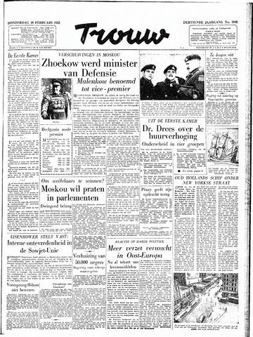 Trouw / De Rotterdammer 1955-02-10