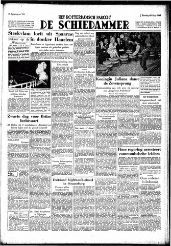 Rotterdamsch Parool / De Schiedammer 1949-08-20