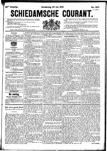 Schiedamsche Courant 1916-06-22