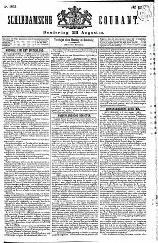 Schiedamsche Courant 1862-08-28