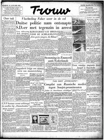 Trouw / De Rotterdammer 1953-01-13