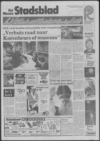 Het Nieuwe Stadsblad 1985-11-27