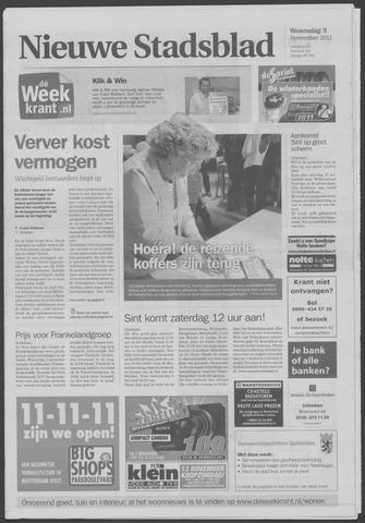 Het Nieuwe Stadsblad 2011-11-09