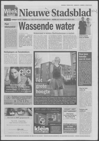 Het Nieuwe Stadsblad 2007-02-07