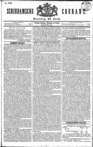 Schiedamsche Courant 1866-07-23