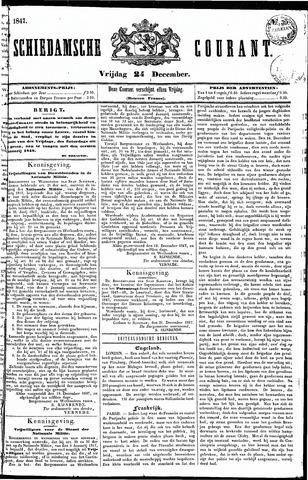 Schiedamsche Courant 1847-12-24