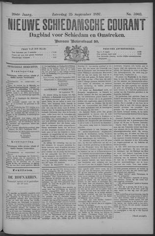 Nieuwe Schiedamsche Courant 1897-09-25