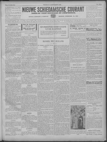 Nieuwe Schiedamsche Courant 1933-09-12