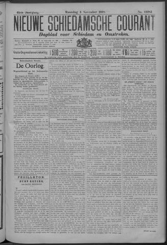 Nieuwe Schiedamsche Courant 1918-11-04