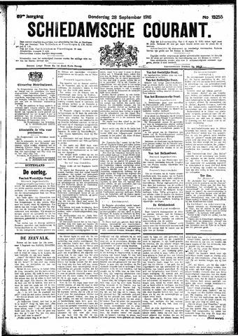 Schiedamsche Courant 1916-09-28
