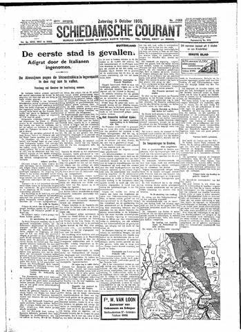 Schiedamsche Courant 1935-10-05