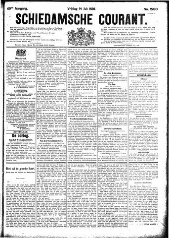 Schiedamsche Courant 1916-07-14