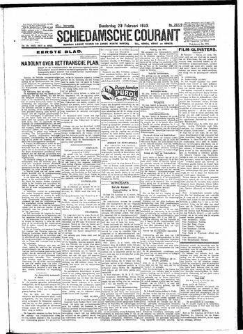 Schiedamsche Courant 1933-02-23