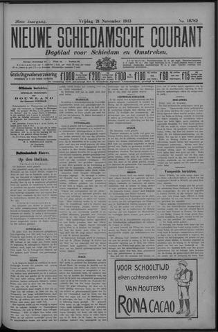 Nieuwe Schiedamsche Courant 1913-11-21