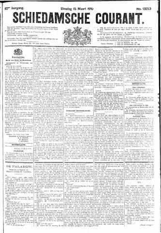 Schiedamsche Courant 1910-03-15