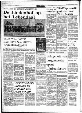 Rotterdamsch Parool / De Schiedammer 1970-09-16