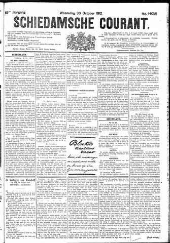 Schiedamsche Courant 1912-10-30