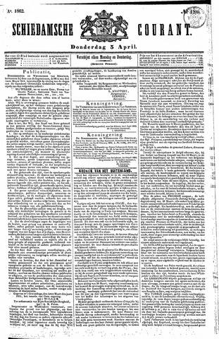 Schiedamsche Courant 1862-04-03