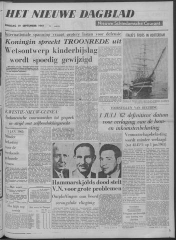 Nieuwe Schiedamsche Courant 1961-09-19