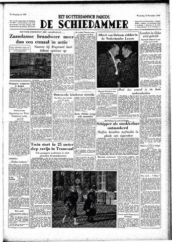 Rotterdamsch Parool / De Schiedammer 1949-11-16