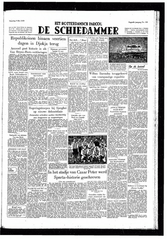 Rotterdamsch Parool / De Schiedammer 1949-05-09