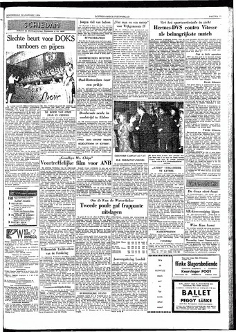 Rotterdamsch Nieuwsblad / Schiedamsche Courant / Rotterdams Dagblad / Waterweg / Algemeen Dagblad 1959-01-29
