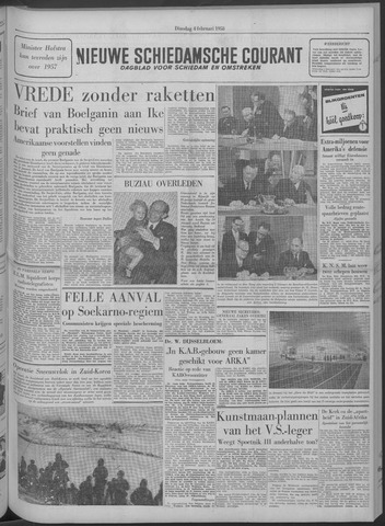 Nieuwe Schiedamsche Courant 1958-02-04