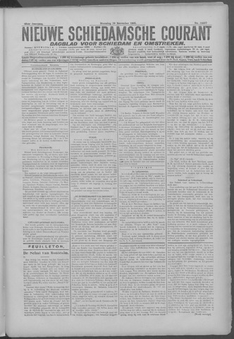 Nieuwe Schiedamsche Courant 1925-11-30