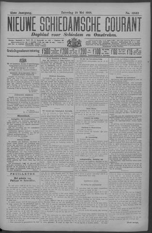 Nieuwe Schiedamsche Courant 1918-05-18
