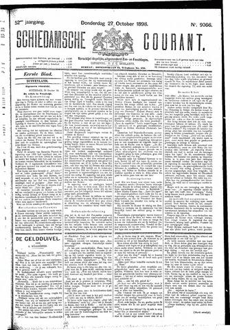 Schiedamsche Courant 1898-10-27