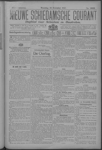 Nieuwe Schiedamsche Courant 1917-12-24