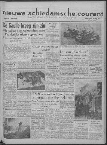 Nieuwe Schiedamsche Courant 1958-06-03