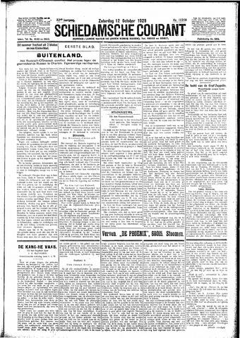Schiedamsche Courant 1929-10-12
