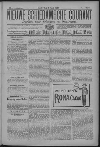Nieuwe Schiedamsche Courant 1913-04-03